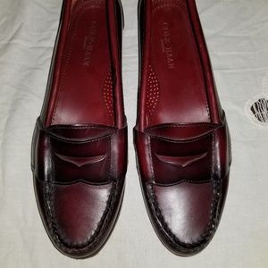 Cole Haan Maroon Loafer